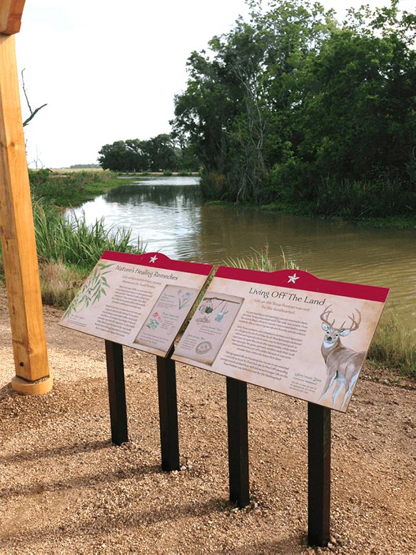 George Ranch Heritage Trail Signage