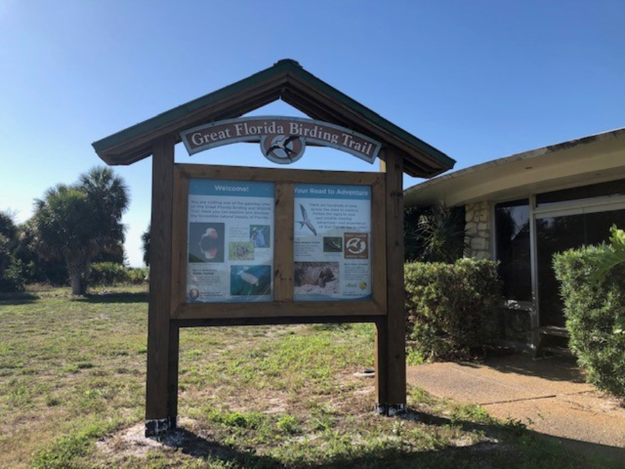 interpretive signage at George Ranch Historical Park